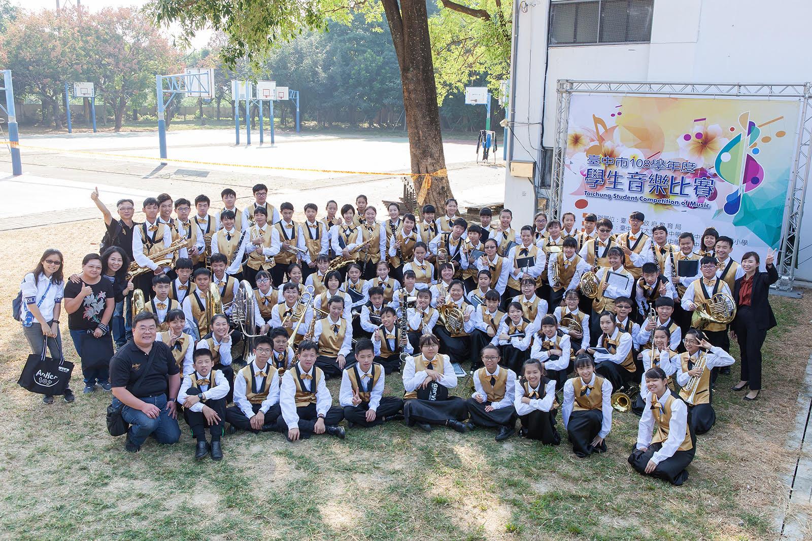 臺中市安和國中-第十四屆音樂班成果發表會《Music Fantasy》、共2張圖片
