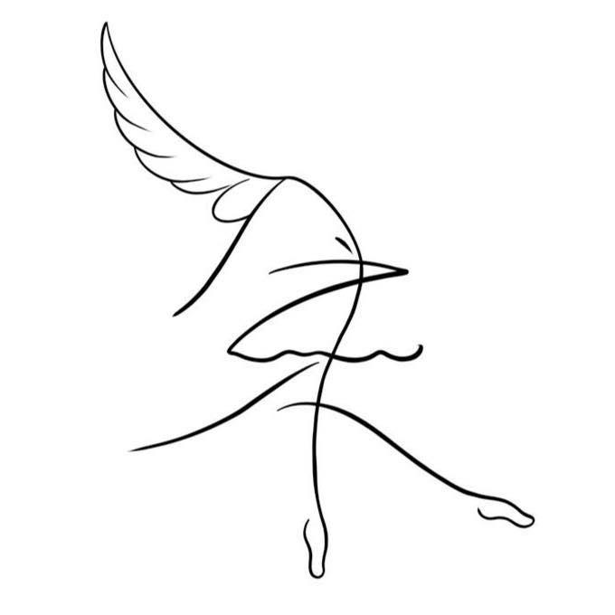 台南應用科技大學舞蹈系四年制110級師生聯合創作展《未之翼然》、共2張圖片