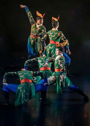 臺中市立文華高級中等學校舞蹈班第29屆畢業成果展-《瀲影凝熹》、共1張圖片