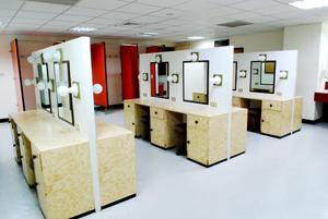 團體化粧室